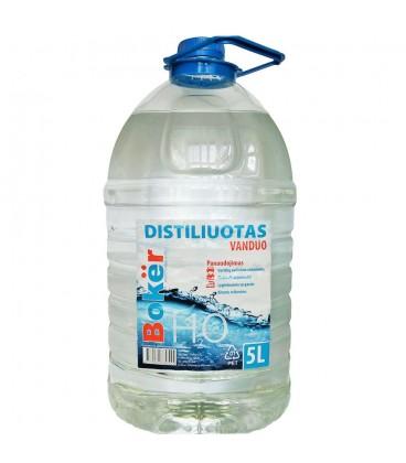 Distiliuotas vanduo BOKER 5l