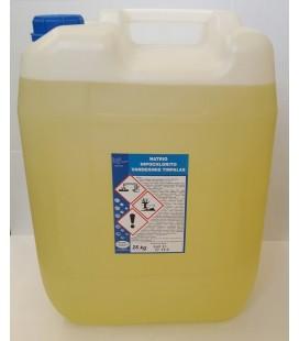 Natrio hipochlorito vandeninis tirpalas 25kg