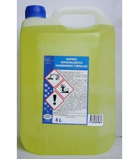 Natrio hipochlorito vandeninis tirpalas 5l