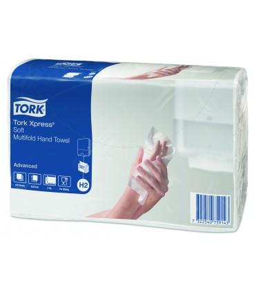 Rankšluosčiai servetėlės TORK XPRESS Advanced H2