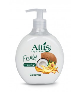 Skystas muilas Attis fruity 500ml Coconut