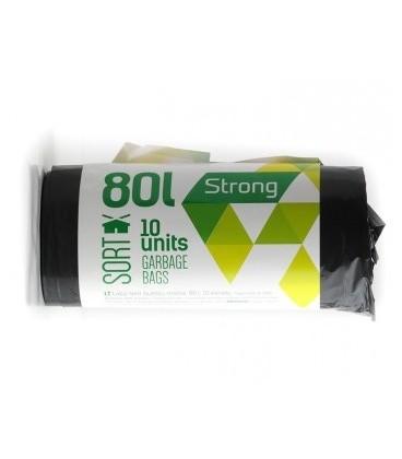 Šiukšlių maišai Sortex 80l