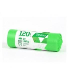 Šiukšlių maišai Sortex 120l žali