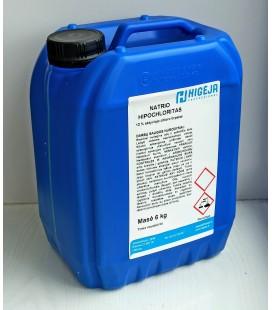 Natrio hipochloritas 6kg