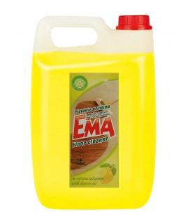 Grindų ploviklis EMA, su citrinų aliejumi 5l