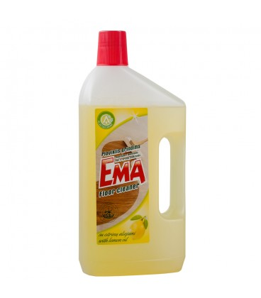 Grindų ploviklis EMA su citrinų aliejumi 1l