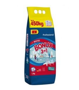 Skalbimo milteliai BONUX White, Polar Ice Fresh 7.5 kg