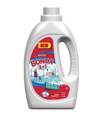 Skystas skalbiklis Bonux White, Polar Ice Fresh 1,1ltr