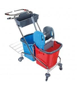 Universalus valytojos vežimėlis 2x25