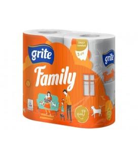 """Tualetinis popierius """"Grite Family"""""""