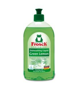 """Indų ploviklis """"FROSCH"""" žaliosios citrinos kvapo, 500ml"""