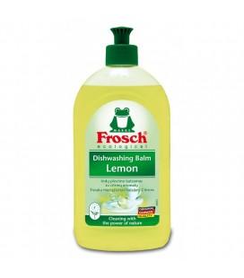 """Indų ploviklis """"FROSCH"""" citrinų kvapo, 500ml"""
