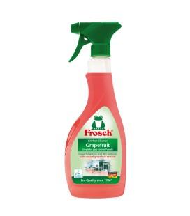 """Riebalų ir purvo šalinimo priemonė su natūraliu greifruktų ekstraktu """"FROSCH"""", 500ml"""