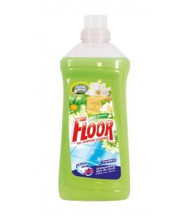 FLOOR universalus ploviklis su muilu baltosios gėlės 1l