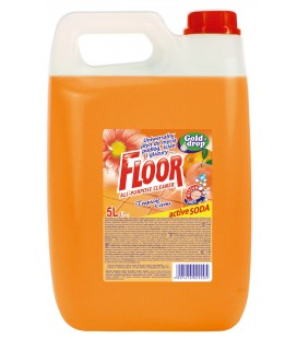 FLOOR universalus ploviklis su citrina ir soda 5l